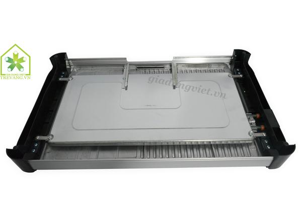 Bếp nướng điện không khói Samsung GR 204N thiết kế mặt sau