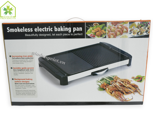 Bếp nướng điện không khói Samsung GR 204N vỏ hộp