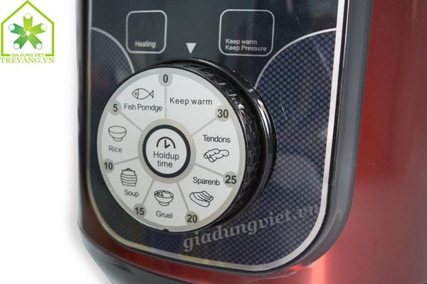 Nồi áp suất đa năng VNTech VNT-603PC bộ điều khiển