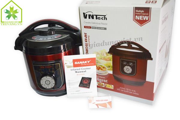 Nồi áp suất đa năng VNTech VNT-603PC