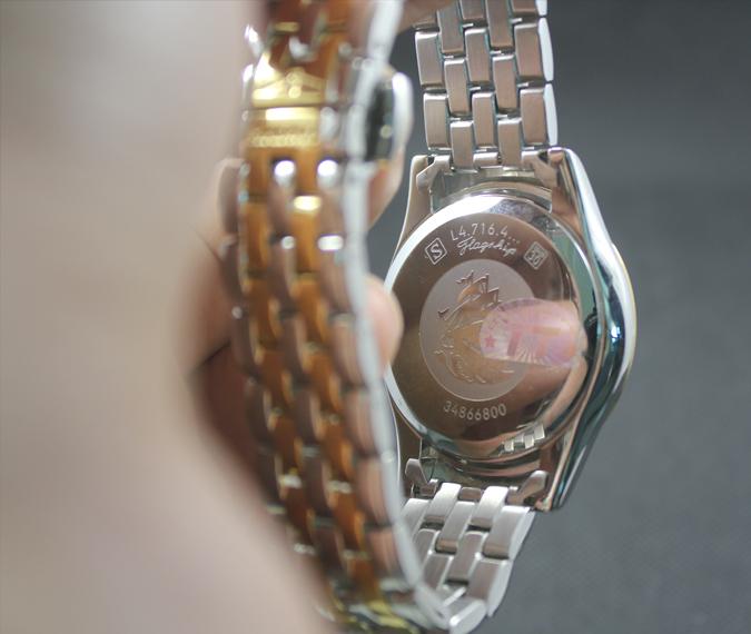 Đồng hồ Longines L4.774.3.00.1 mặt sau