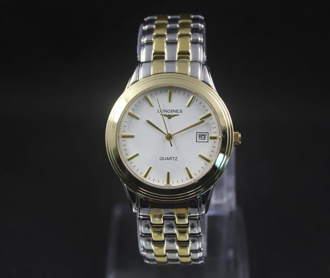 Đồng hồ Longines L4.774.3.00.5 Quartz nam cao cấp