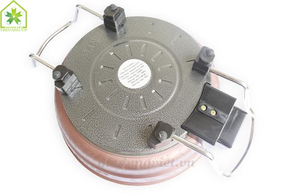 Chảo điện đa năng Osan OSF 26 thiết kế mặt đáy