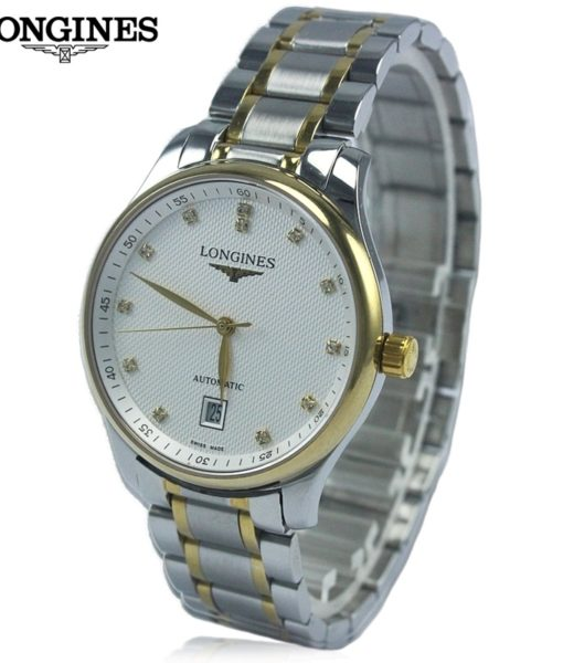 Đồng hồ Longines L.2.518.5.77.7 mặt trắng