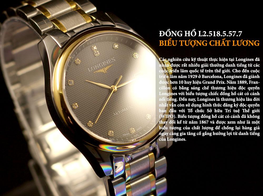 Đồng hồ Longines L.2.518.5.57.7 dành cho nam