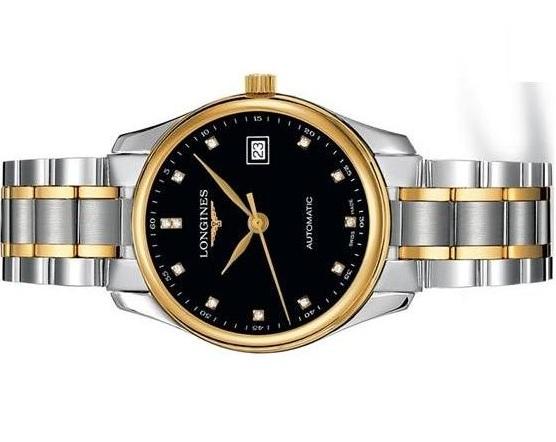 Đồng hồ Longines L.2.518.5.57.7 mặt đen