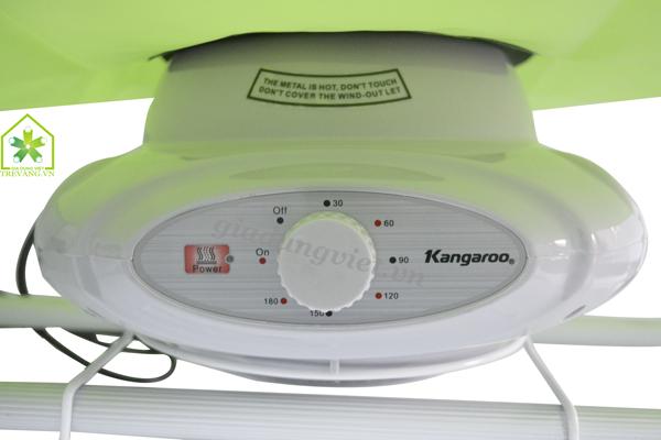 Máy sấy quần áo Kangaroo KG307 củ sấy