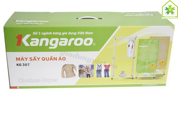 Máy sấy quần áo Kangaroo KG307 hộp