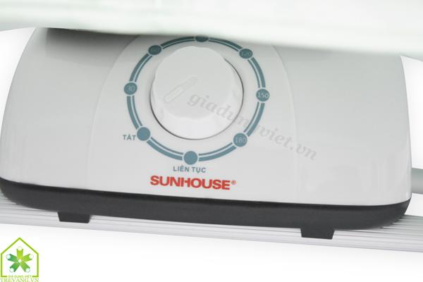 Máy sấy quần áo Sunhouse SHD2702 điều chỉnh