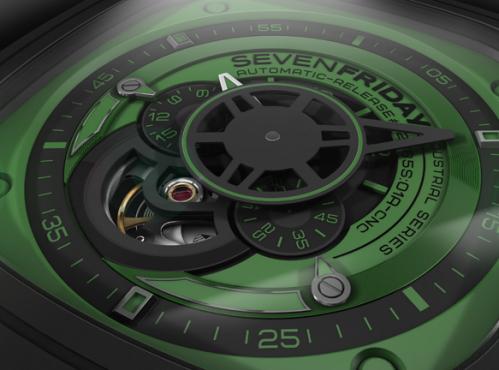 Đồng hồ Sevenfriday P1-5 chi tiết bề mặt