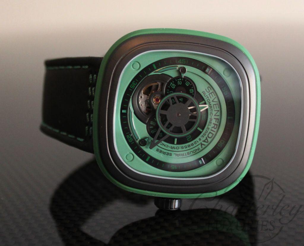 Đồng hồ Sevenfriday P1-5 màu xanh