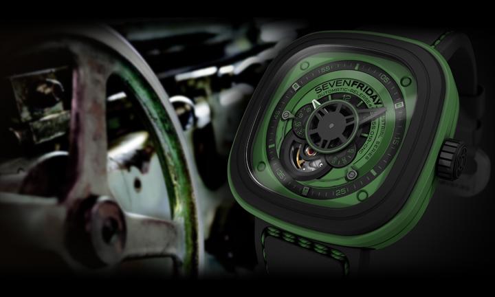 Đồng hồ Sevenfriday P1-5 máy cơ tự động