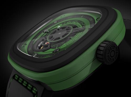 Đồng hồ Sevenfriday P1-5  núm chỉnh giờ