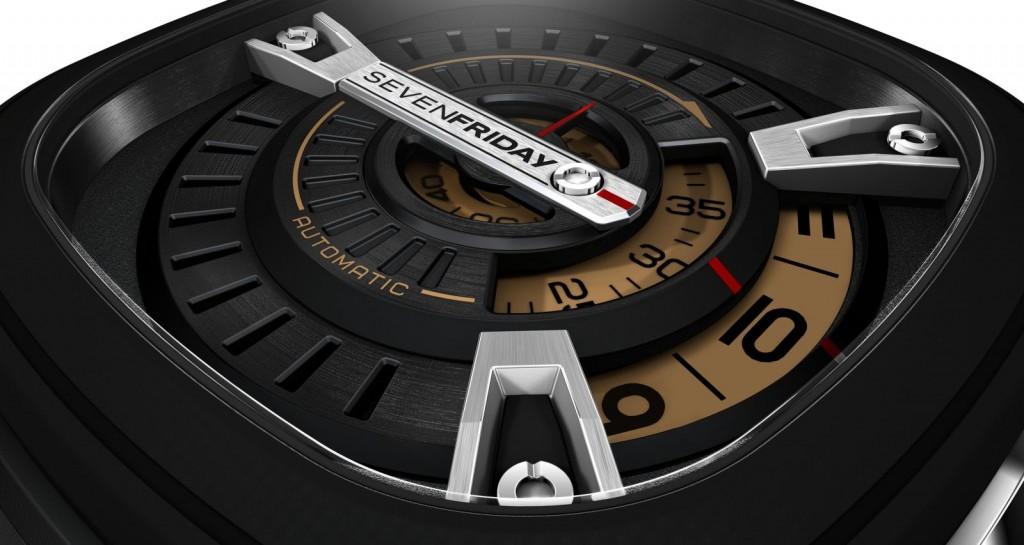 Đồng hồ Sevenfriday M2-1  chi tiết mặt