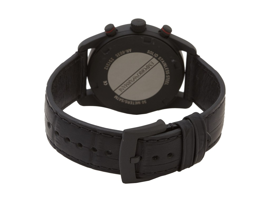 Đồng hồ Armani AR6035 thiết kế mặt sau