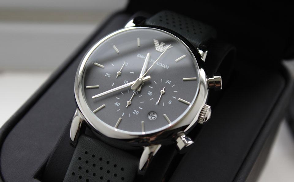 Đồng hồ Armani AR1735 mặt kính khoáng