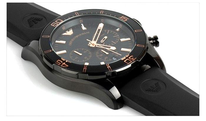 Đồng hồ Armani AR5946 dây cao su