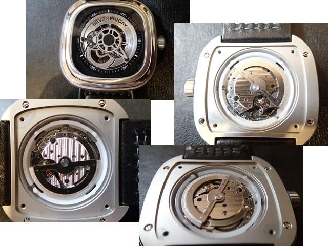 Đồng hồ Sevenfriday P1-2 động cơ