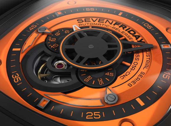 Đồng hồ Sevenfriday P1-3 cận mặt