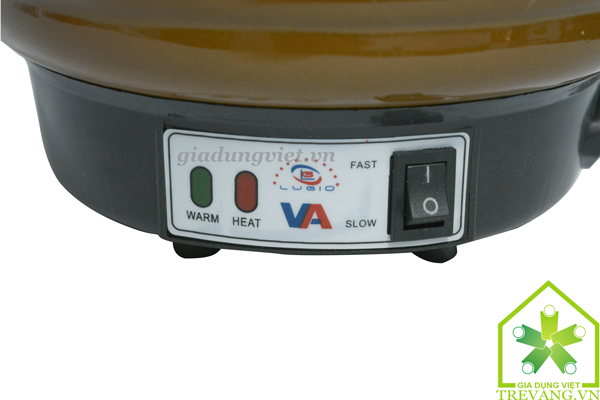 Ấm sắc thuốc Vạn Phúc An VA-186 điều chỉnh