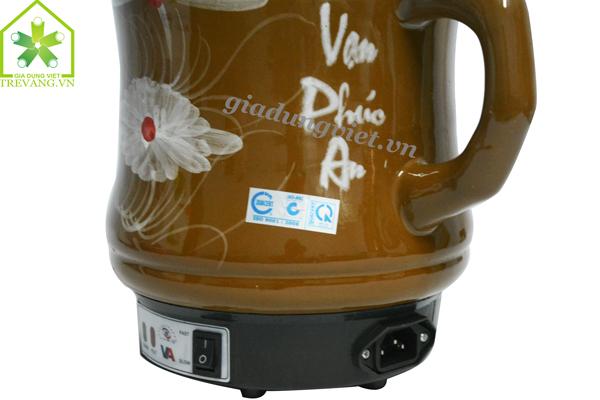 Ấm sắc thuốc Vạn Phúc An VA-186 phích cắm