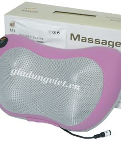 Gối massage Magic DC12V cao cấp hồng ngoại