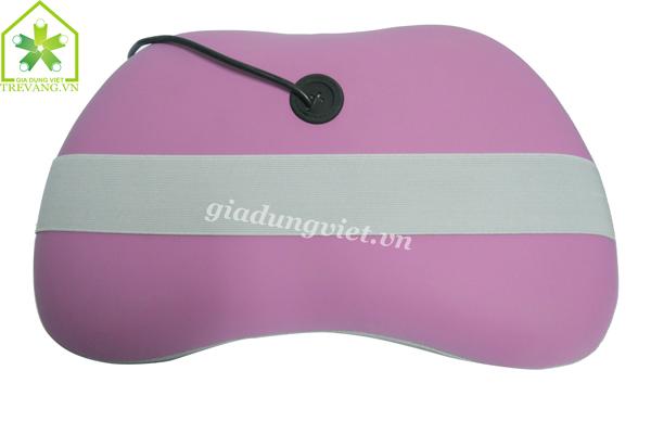 Gối massage hồng ngoại Magic DC12V mặt sau