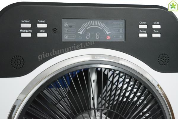 Quạt hơi nước Jiplai WY-33A12 bộ điều chỉnh
