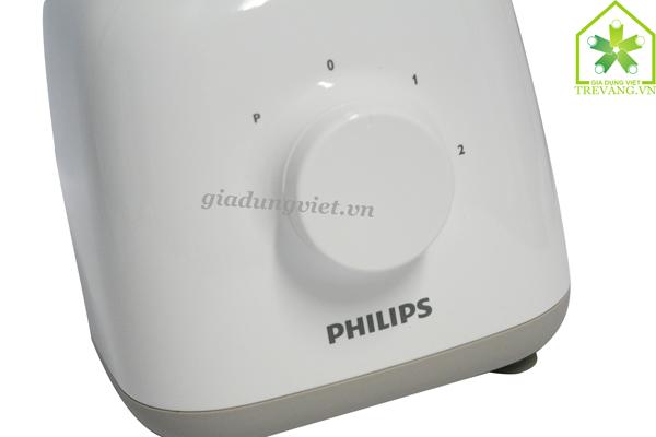 Máy xay sinh tố Philips HR2100 nút điều chỉnh