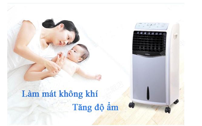 Quạt hơi nước Fusibo FB-EL612 giảm nhiệt từ 5- 7 độ C