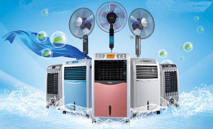 Quạt hơi nước Fusibo FB-EL616 đa dạng màu sắc