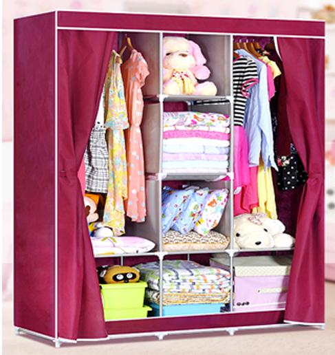 Tủ quần áo 3 buồng, 8 ngăn