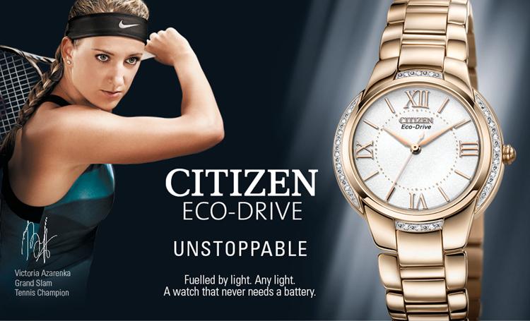 Lạ mắt BST Đồng hồ Citizen chính hãng năm 2015