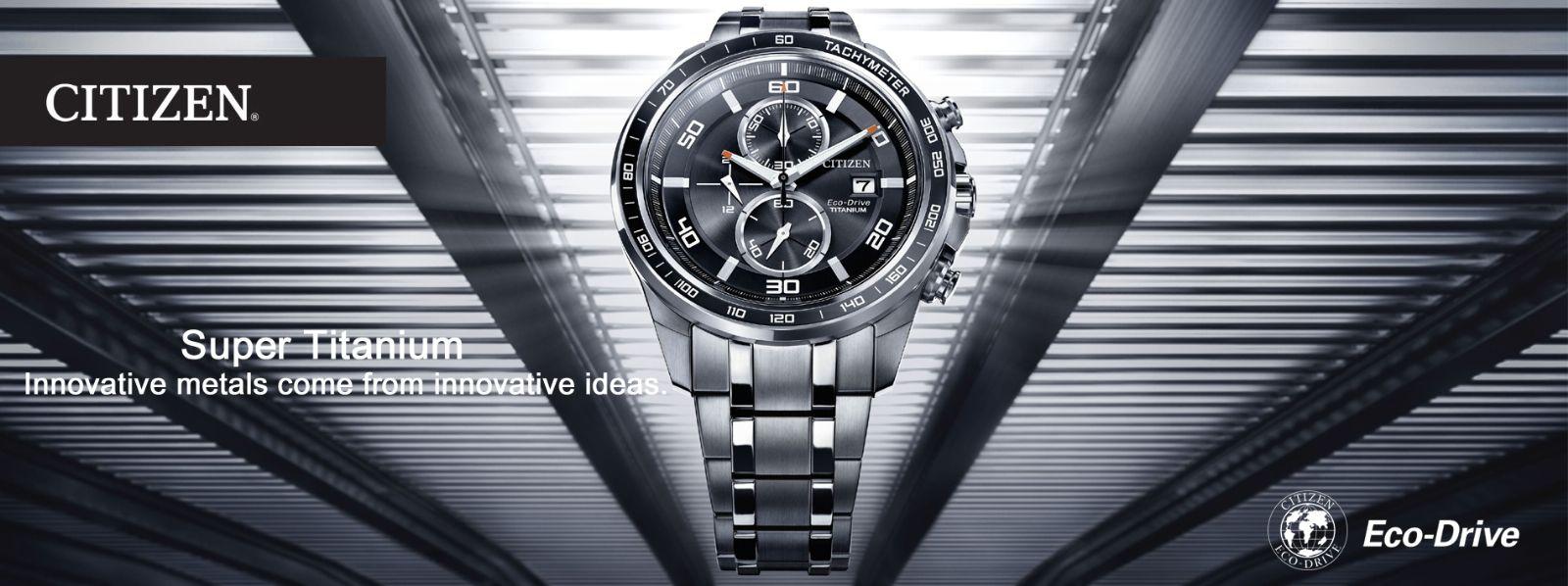 Đồng hồ Citizen Titanium