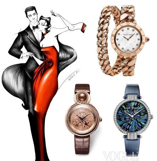 Đồng hồ nữ đeo tay đính đá
