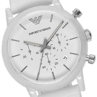 Đồng hồ Armani AR1054 nữ trắng tinh khôi