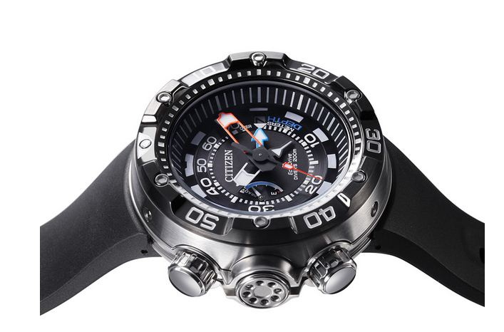 Đồng hồ Citizen eco drive Promaster Aqualand tinh xảo