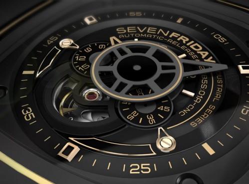 Đồng hồ Sevenfriday P2-2 chi tiết mặt số