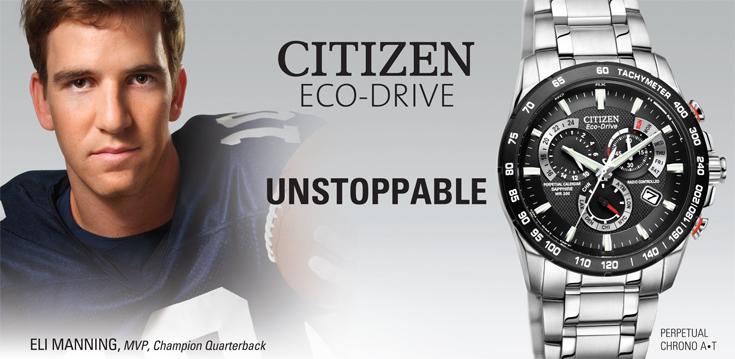 Đồng hồ Citizen eco drive sport mạnh mẽ