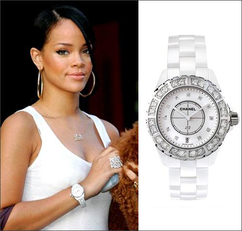 Đồng hồ hàng hiệu đính kim cương hãng Chanel