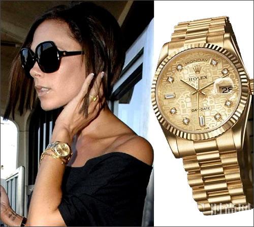 Đồng hồ hàng hiệu đính kim cương hãng Rolex