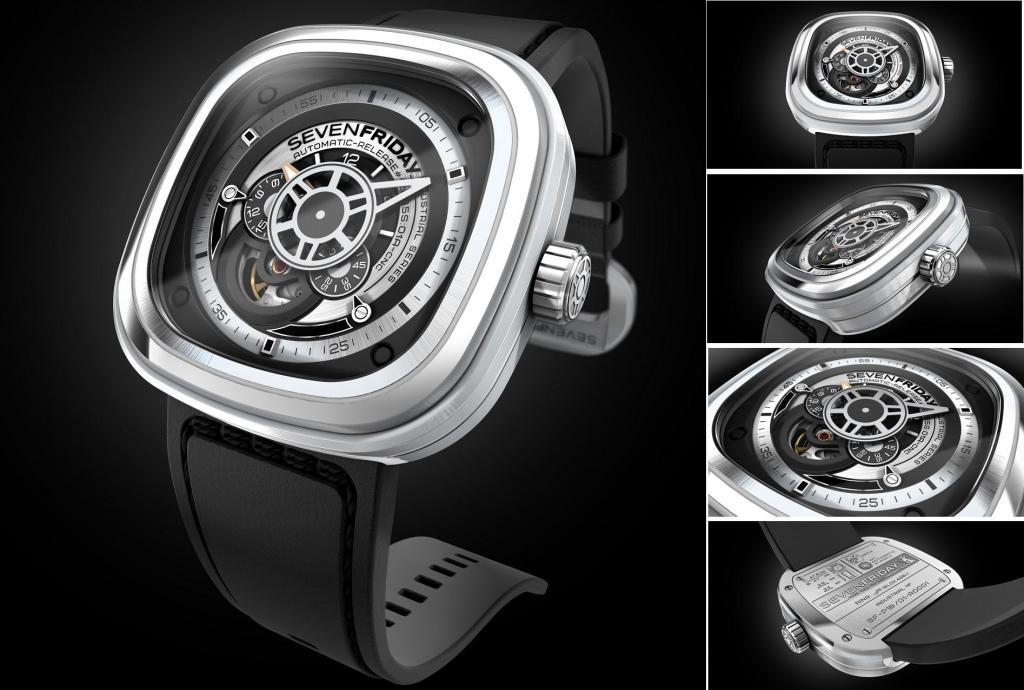 Đồng hồ Senvenfriday P1B-1 dây cao su