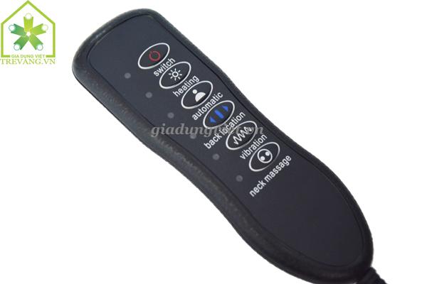 Ghế massage toàn thân Magic XD-801 nút điều chỉnh