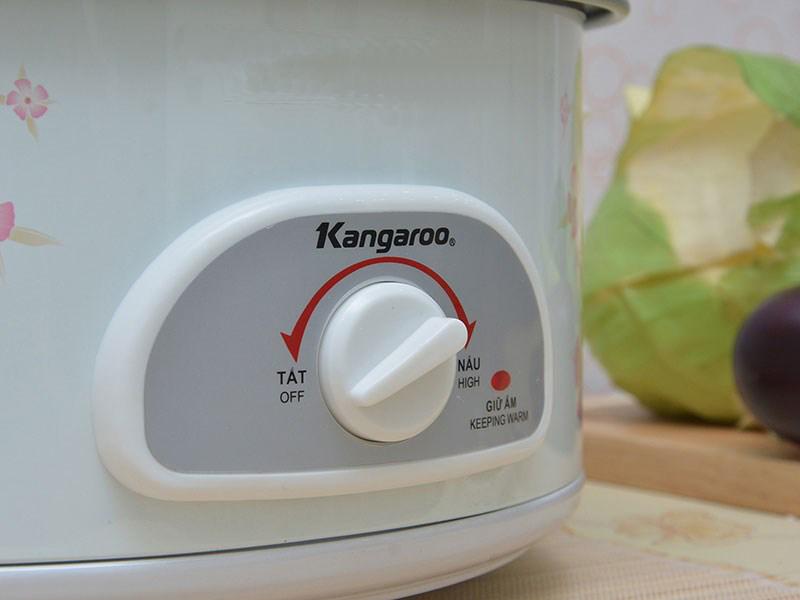 Nồi lẩu điện Kangaroo KG 800N hiệu suất nấu chín nhanh