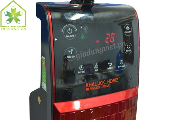 Quạt hơi nước Khaluck.Home KL-390 hiển thị đèn LED
