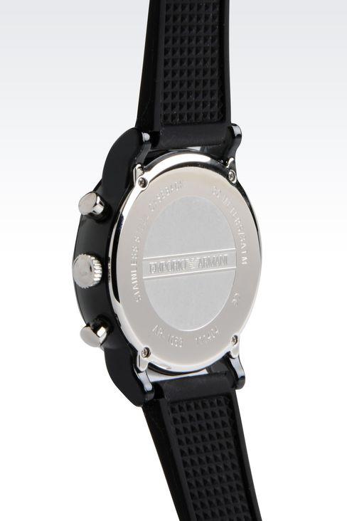 Đồng hồ Armani AR1053 mặt sau