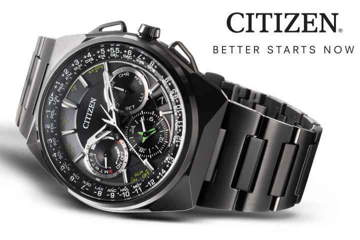 Đồng hồ Citizen Eco-Drive Satellite 2015