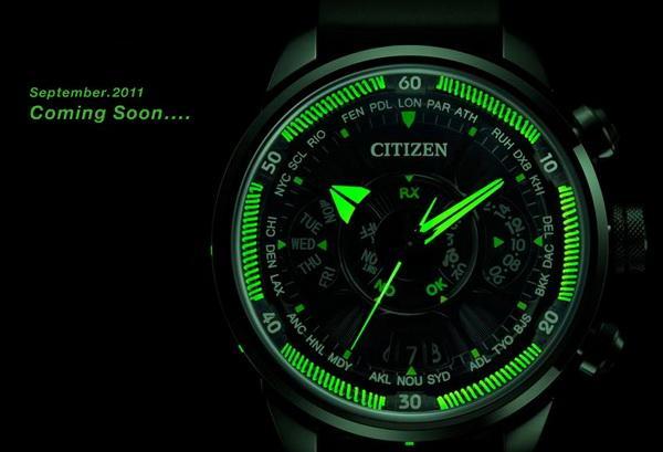 Đồng hồ Citizen Eco-Drive Satellite