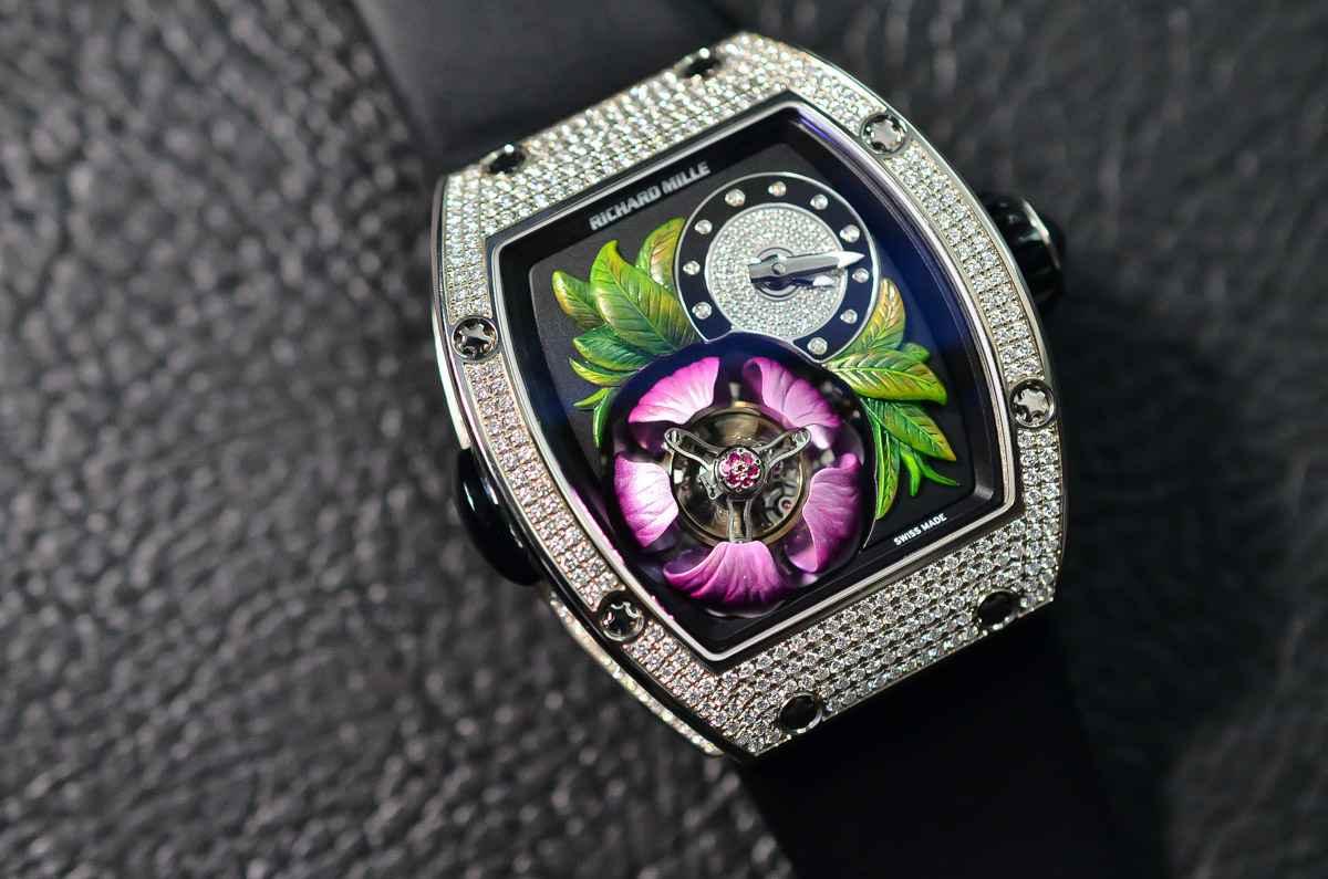 Đồng hồ RM 19-02 Tourbillon Fleur