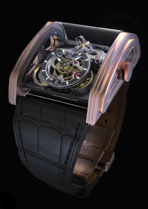 Đồng hồ Triple Axis Tourbillon